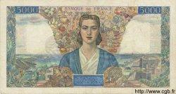 5000 Francs EMPIRE FRANÇAIS FRANCE  1945 F.47.09 TTB