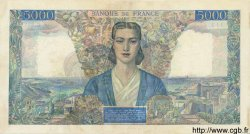 5000 Francs EMPIRE FRANÇAIS FRANCE  1945 F.47.14 TTB