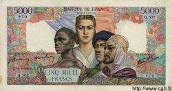 5000 Francs EMPIRE FRANÇAIS FRANCE  1945 F.47.21 TB+