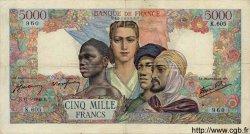 5000 Francs EMPIRE FRANCAIS FRANCE  1945 F.47.26 TB+