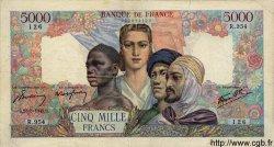 5000 Francs EMPIRE FRANÇAIS FRANCE  1945 F.47.40 TB
