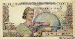 10000 Francs GÉNIE FRANÇAIS FRANCE  1945 F.50.00 SUP