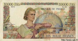 10000 Francs GÉNIE FRANÇAIS FRANCE  1946 F.50.06 TB
