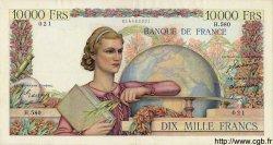 10000 Francs GÉNIE FRANÇAIS FRANCE  1950 F.50.25 TTB+ à SUP