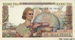 10000 Francs GÉNIE FRANÇAIS FRANCE  1950 F.50.33 TTB+