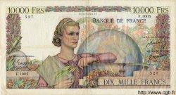 10000 Francs GÉNIE FRANÇAIS FRANCE  1950 F.50.42 TTB