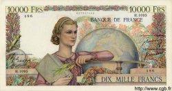 10000 Francs GÉNIE FRANÇAIS FRANCE  1950 F.50.46 TTB