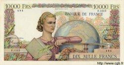 10000 Francs GÉNIE FRANÇAIS FRANCE  1951 F.50.51 TTB