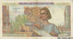 10000 Francs GÉNIE FRANÇAIS FRANCE  1951 F.50.54 TTB