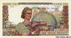 10000 Francs GÉNIE FRANÇAIS FRANCE  1952 F.50.60 TTB+