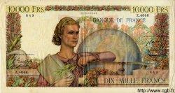 10000 Francs GÉNIE FRANÇAIS FRANCE  1953 F.50.63 TTB