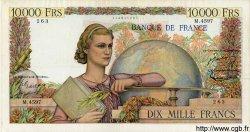 10000 Francs GÉNIE FRANÇAIS FRANCE  1953 F.50.64 pr.TTB