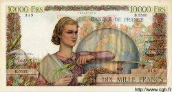 10000 Francs GÉNIE FRANÇAIS FRANCE  1953 F.50.67 SUP