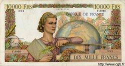 10000 Francs GÉNIE FRANÇAIS FRANCE  1955 F.50.73 TB+