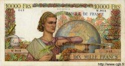 10000 Francs GÉNIE FRANÇAIS FRANCE  1955 F.50.76 pr.TTB