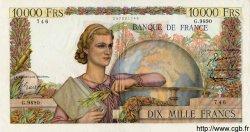 10000 Francs GÉNIE FRANÇAIS FRANCE  1955 F.50.77 TTB+ à SUP