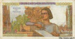 10000 Francs GÉNIE FRANÇAIS FRANCE  1956 F.50.78 TB+