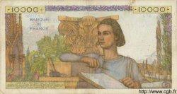 10000 Francs GÉNIE FRANÇAIS FRANCE  1956 F.50.81 TB