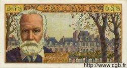 5 Nouveaux Francs VICTOR HUGO FRANCE  1959 F.56.01 SUP+ à SPL