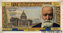 5 Nouveaux Francs VICTOR HUGO FRANCE  1962 F.56.11 TTB+