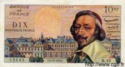 10 Nouveaux Francs RICHELIEU FRANCE  1959 F.57.04 TTB+ à SUP