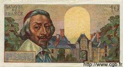 10 Nouveaux Francs RICHELIEU FRANCE  1960 F.57.09 TTB+