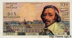 10 Nouveaux Francs RICHELIEU FRANCE  1960 F.57.10 TTB+