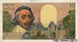 10 Nouveaux Francs RICHELIEU FRANCE  1961 F.57.16 TTB à SUP