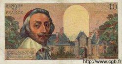 10 Nouveaux Francs RICHELIEU FRANCE  1962 F.57.17 TTB