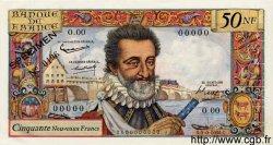50 Nouveaux Francs HENRI IV FRANCE  1959 F.58.00s2 pr.NEUF