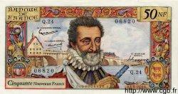 50 Nouveaux Francs HENRI IV FRANCE  1959 F.58.03 SUP