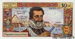 50 Nouveaux Francs HENRI IV FRANCE  1961 F.58.06 SUP+