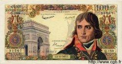 100 Nouveaux Francs BONAPARTE FRANCE  1962 F.59.17 SUP