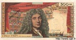 500 Nouveaux Francs MOLIÈRE FRANCE  1959 F.60.00 pr.NEUF