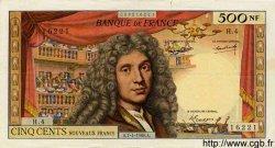 500 Nouveaux Francs MOLIÈRE FRANCE  1960 F.60.02 TTB+ à SUP