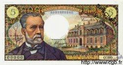 5 Francs PASTEUR FRANCE  1966 F.61.00 pr.NEUF