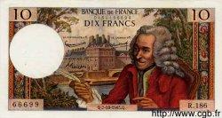 10 Francs VOLTAIRE FRANCE  1965 F.62.16 SUP
