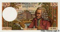 10 Francs VOLTAIRE FRANCE  1967 F.62.29 SPL