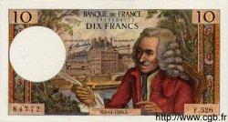 10 Francs VOLTAIRE FRANCE  1969 F.62.40 SUP