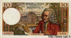 10 Francs VOLTAIRE FRANCE  1970 F.62.46 TTB