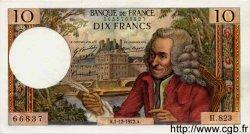 10 Francs VOLTAIRE FRANCE  1972 F.62.59 pr.SPL