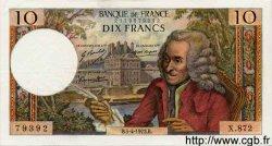 10 Francs VOLTAIRE FRANCE  1973 F.62.61 SUP