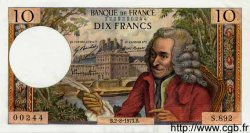 10 Francs VOLTAIRE FRANCE  1973 F.62.63 AU