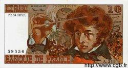 10 Francs BERLIOZ FRANCE  1975 F.63.13 NEUF