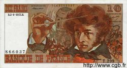 10 Francs BERLIOZ FRANCE  1977 F.63.22 SUP