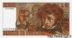 10 Francs BERLIOZ FRANCE  1977 F.63.23 NEUF