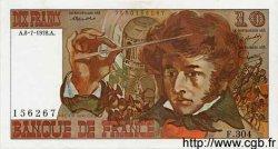 10 Francs BERLIOZ FRANCE  1977 F.63.24 SUP