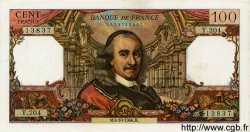 100 Francs CORNEILLE FRANCE  1966 F.65.15 SUP+