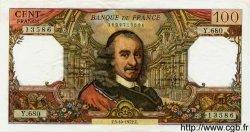 100 Francs CORNEILLE FRANCE  1972 F.65.40 SUP+