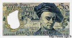 50 Francs QUENTIN DE LA TOUR FRANCE  1980 F.67.06 SPL